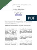 Cromatografia y Destilacion