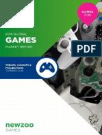 Newzoo 2016 Global Games Market Report