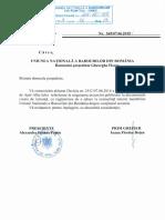 Decizia Nr 25 c 07062016 a Presedintelui Curtii de Apel Alba Iulia