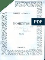 1982 - Momentos for Piano [Scan]