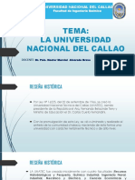 La Universidad Nacional Del Callao