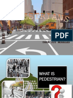 What is Pedestrian
