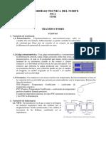 Transductores Activos y Pasivos