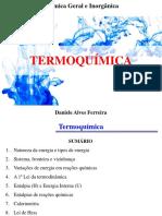 Termoquímica Prof Dani