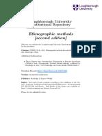 Ethnographic Methods 2 Kor