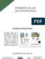 Componentes de Un Sistema Fotovoltaico