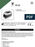 Pulsooximetro beurer