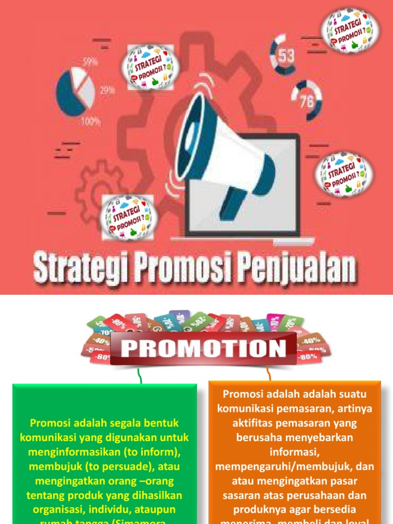 6 Strategi Promosi