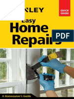 Stanley Easy Home Repairs by David Toht
