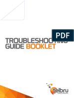 Booklet Troubleshoot