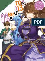 Kono Subarashii Sekai Volumen 13