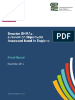 Smarter Shmas a Review of Objectively Assessed Need in England