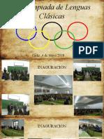 IX Olimpiada de Lenguas Clásicas UCA
