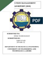 PM Lab Report
