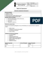 SGSSO-REG-005-001 Registro Asistencia Capacitacion UV