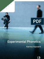 Hayward 2000 Experimental Phonetics
