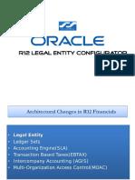 Oracle r12 Legal Entity