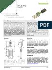 Sensirion Humidity Sensors SHT7x Datasheet V5