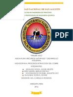 Monografia_procesos de Extraccion Del Cobre