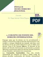 Diapositivas 2 Las Fuentes Del Derecho Internacional