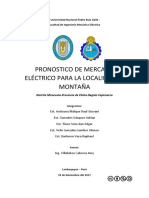Estudio de Mercado Electrico -Informe