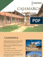 Arquitectura Colonial de Cajamarca