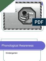 Kindergartner Phonological Awareness .ppt