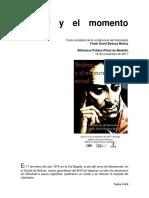 Bolívar y El Momento Actual - Texto Completo de La Conferencia de Frank D Bedoya M - BPP Medellín - 16-11-2017