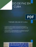 Tratado de Paz en Cuba Diapositiva