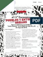 Convocatoria Pueblos y Entorno Urbano