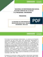 Lineamiento General Para El Cumplimiento de La Proyección Social en Enfermería 2018-1