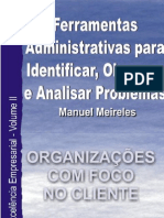 Ferramentas Administrativas para Identificar, Observar e Analisar Problemas