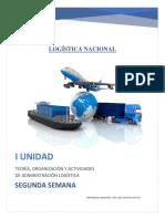 Logistica Nacional Ventajas y Actividades Logisticas