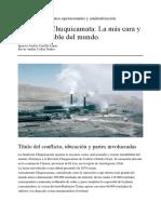 Fundición Chuquicamata Oficial
