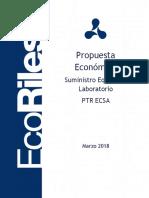 Propuesta Economica Suministro Equipos de Laboratorio ECSA