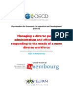 Managing a Diverse Public Administration and Effectively Responding to the Needs of a More Diverse Workforce