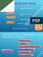 Problematica Vial -  cajamarca