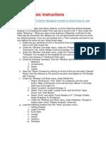 Sketchup Workshop Advice Handout | Sketch Up | Cartesian Coordinate