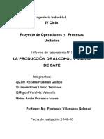 OPU de La Producción de Alcohol y Abono de Café Final