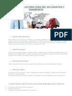 Campaña Publicitaria Para Ing. Logistica y Transporte