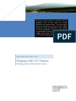 Hedging With VIX Futures