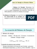Balances de Energia III Unidad