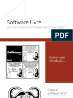 Software Livre [Slides]