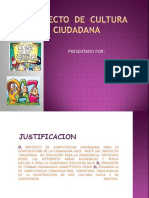 Diapositivas Borrador de Cultura Ciudadana
