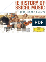 The History of Classical Music on 100 CDs (2013)