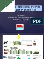 2.1 Estudios de Prefactibilidad Tecnica de La Digestion Anaerobica Bres 2017