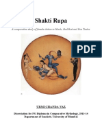 Shakti Rupa -- A Comparative Study of Female Deities in Hinduism, Buddhism and Bon Tantra