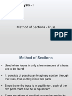 Lec 3 - Mtd of Sections - Truss