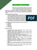 Fisiología Clínica y Patogenia