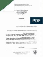 Certificado Del Concejo de Vigencia Del Acuerdo Para Contratar